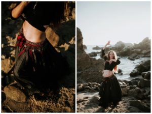 Belly Dancing Girl B. Young Forever Photography Portrait Beach Art-14