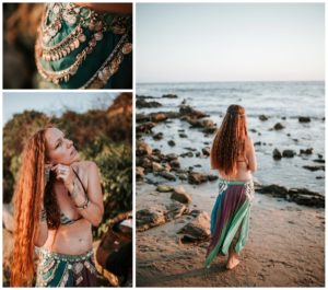 Belly Dancing Girl B. Young Forever Photography Portrait Beach Art-23