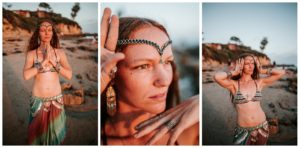 Belly Dancing Girl B. Young Forever Photography Portrait Beach Art-27