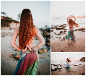 Belly Dancing Girl B. Young Forever Photography Portrait Beach Art-35