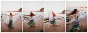 Belly Dancing Girl B. Young Forever Photography Portrait Beach Art-37
