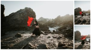 Belly Dancing Girl B. Young Forever Photography Portrait Beach Art-4