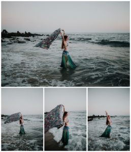Belly Dancing Girl B. Young Forever Photography Portrait Beach Art-47