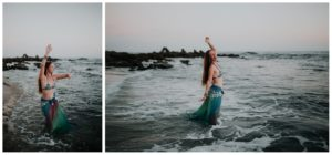 Belly Dancing Girl B. Young Forever Photography Portrait Beach Art-50