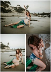 Belly Dancing Girl B. Young Forever Photography Portrait Beach Art-56