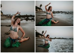 Belly Dancing Girl B. Young Forever Photography Portrait Beach Art-59